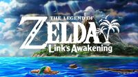 The Legend of Zelda Link's Awakening Switch cover
