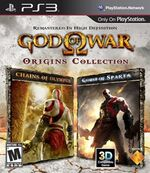 God of War Origins Collection box art