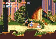 World of Illusion Mickey Donald Screen