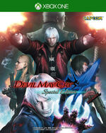Devil May Cry 4 Special Edition Xbox One cover