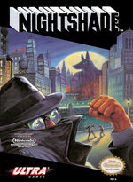 Nightshade The Claws of HEUGH NES cover