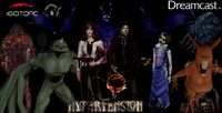 Hypertension Harmony of Darkness Dreamcast cover