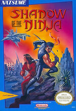 Shadow of the Ninja NES cover