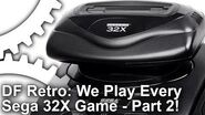 DF Retro's Failed Consoles Sega 32X - We Play Every Game Part Two