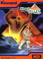 Kings Valley MSX cover