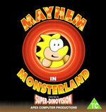 Mayhem in Monsterland C64 cover