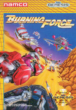 Burning Force MD cover