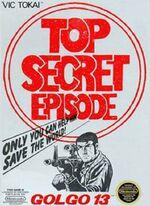 Golgo 13 Top Secret Episode NES cover