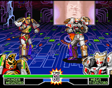 Mighty Morphin Power Rangers The Fighting Edition SNES screenshot