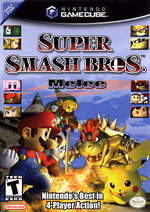 Super Smash Bros Melee GC cover