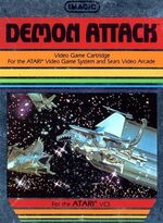 Atari 2600 Demon Attack box art