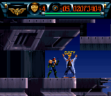 Judge Dredd SNES screenshot