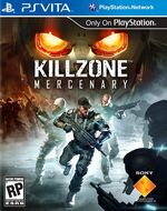 Killzone Mercenary PSVita cover