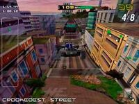 San Francisco Rush 2049 arcade screenshot