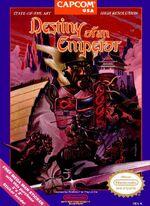 Destiny of an Emperor NES cover