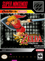 Zelda Parallel Worlds cover