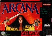 Arcana SNES cover