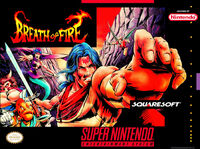 Breath Of Fire SNES cover