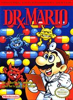 Dr Mario NES cover