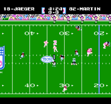 Tecmo Super Bowl Gameplay