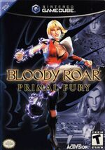 Bloody Roar Primal Fury GC cover
