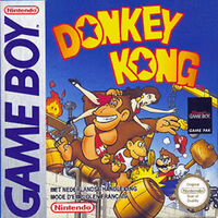 Gameboy-donkey kong