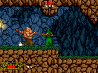 Cadash arcade screenshot