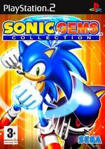 Sonic gems collection ps2 cover