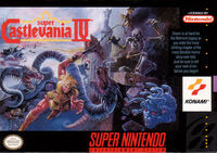 Super Castlevania 4 SNES cover