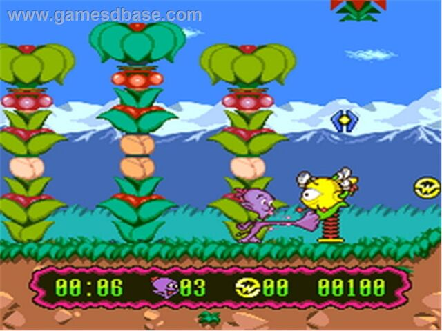 File:Super Widget SNES screenshot.jpg