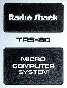 TRS-80 badge