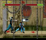 Mortal Kombat II SNES screenshot