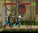 Mortal Kombat II SNES screenshot