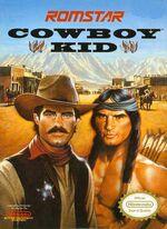 Cowboy Kid NES cover