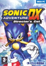 Sonic Adventure DX PC cover