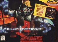 Killer Instinct SNES cover