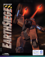 Metaltech Earthsiege PC cover