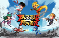 Puzzle Fighter mobile cover