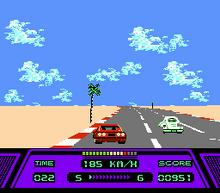 Rad Racer Screenshot