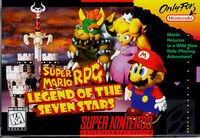 Super Mario RPG SNES cover