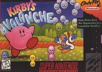 Kirbys Avalanche SNES cover