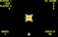 Space Zap arcade screenshot