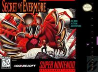 Secret Of Evermore SNES cover
