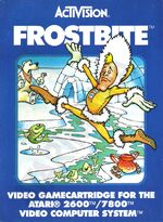 Atari 2600 Frostbite box art