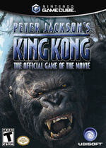 Peter Jacksons King Kong GC cover