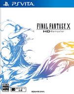 Final Fantasy X HD Remaster PSVita cover
