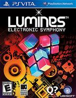 Lumines Electronic Symphony PSVita cover