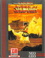 Samurai Shodown NeoGeo cover