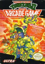 Teenage Mutant Ninja Turtles 2 The Arcade Game NES cover