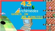 43 Acorn Archimedes Games in 25 minutes - compilation